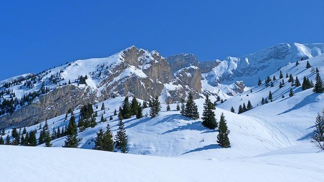 Fondo Escritorio Paisaje Bonita Nevada: Free Photo: Landscape, Nature, Winter, Mountain