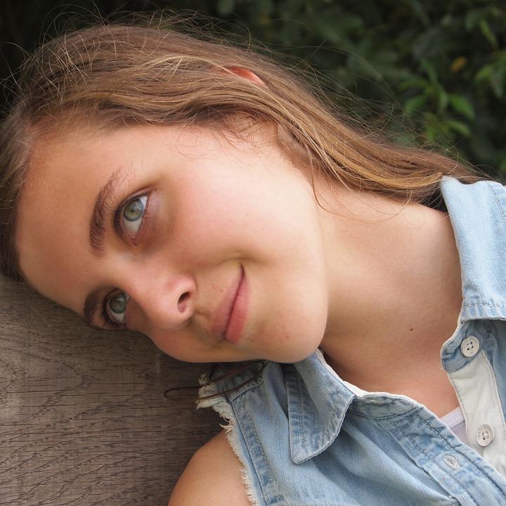 Photo gratuite fille yeux bleus enfant ouvert image gratuite sur pixabay 711870 - Fille yeux bleu ...