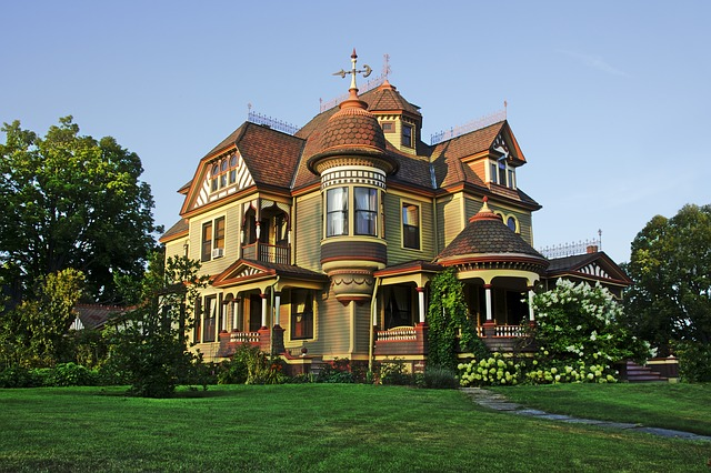 Free Photo Victorian House Image On