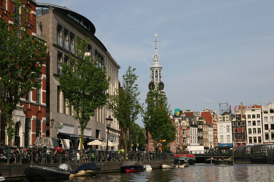 Free Photo Amsterdam Water Channel Free Image On Pixabay 712850