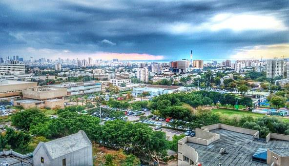 Тель Авив, Буря, Шторм На Море