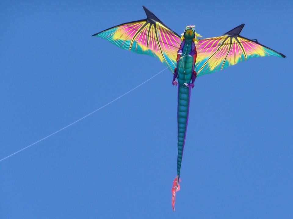 Воздушный змей дракон своими руками фото 382