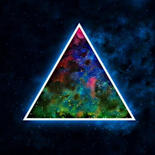 Картинка с треугольником, анимация юбилей лет
