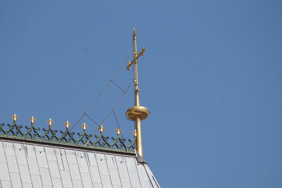 Kreuz Gold Dach Kolner Kostenloses Foto Auf Pixabay