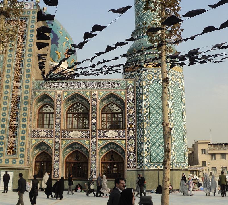 Iran, Meczet, Teheran, Na Bliskim Wschodzie, Persji