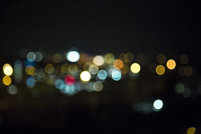 Free Photo Bokeh Night Lights Light Blur Image