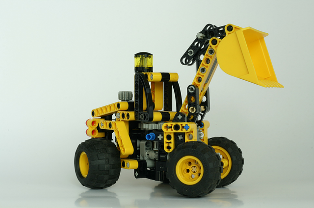Free photo lego technic shovel construction free - Jeux de construction lego technic ...