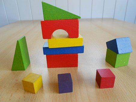 Bausteine, Spielzeug, Block, Gebäude