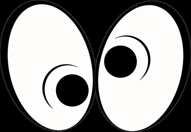cartoon confuse eye 183 free image on pixabay