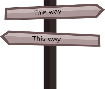 This Way, Confuse, Where To Go, Way