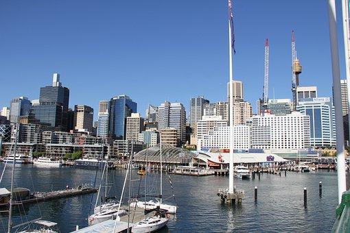 Sydney in 7 Tagen - Darling Harbor, Australia, Waterfront