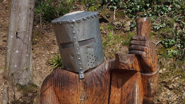 Knight, Helm, Middle Ages, Funny