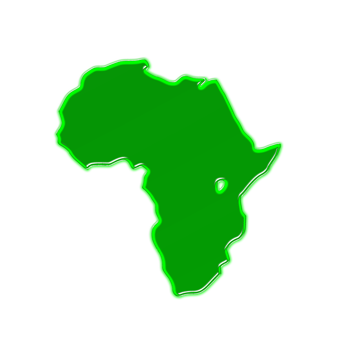Africa Map Geography Free Image On Pixabay