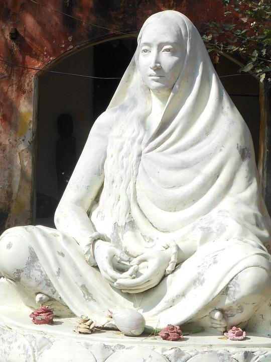 India, Statue, Mother, Hindu, Old, Prayer, Stone