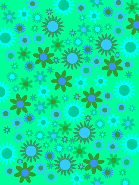 Verde Blu Fiori Immagini Gratis Su Pixabay