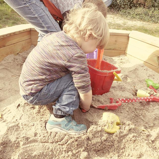 Sand Pit Children Play · Free photo on Pixabay