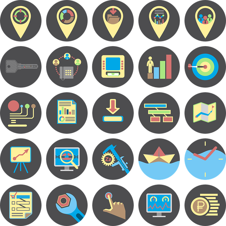 it business icons computers  u00b7 free vector graphic on pixabay