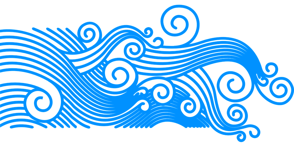 Waves Wave Pattern Summer · Free vector graphic on Pixabay