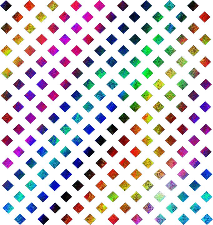 Multi-Color Rainbow Lattice · Free image on Pixabay