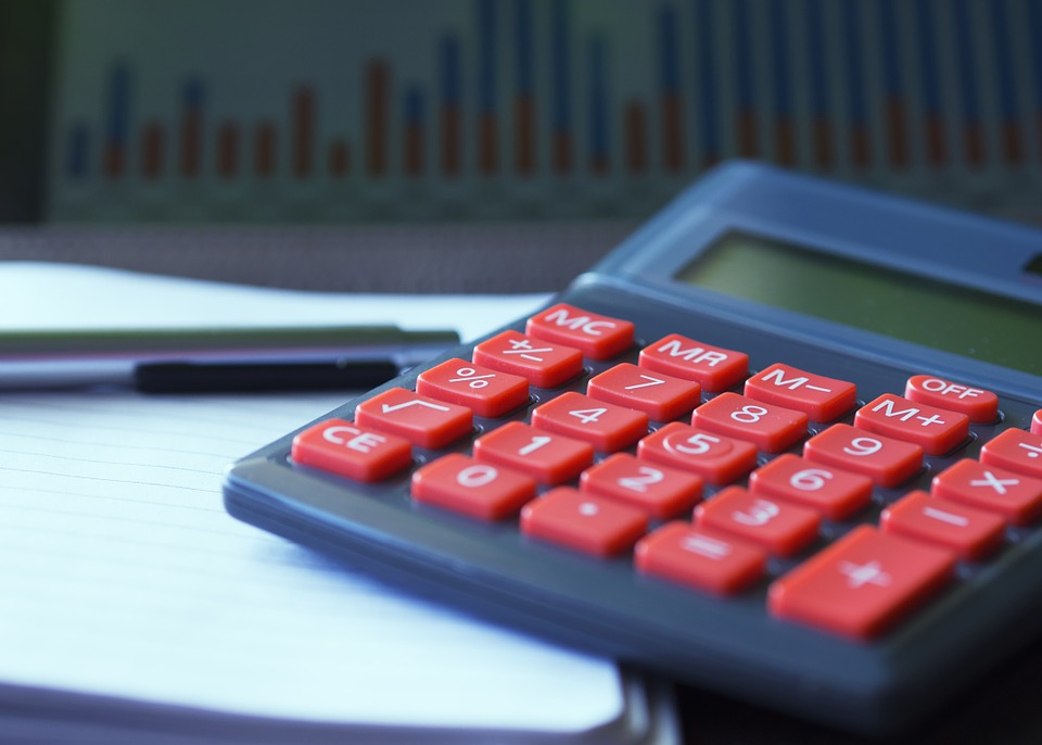Calculator, Calculation, Insurance, Finance, Accounting