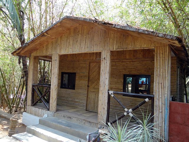 Free Photo Cottage Hut Bamboo Cabin Free Image On