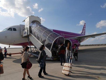 格安, 航空, Lcc, 沖縄, 飛行機, 旅, Lcc, Lcc, Lcc