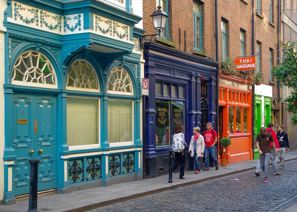 Irlande Dublin Temple Bar Rue 183 Photo Gratuite Sur Pixabay