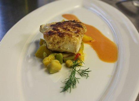 Peixe, Bacalhau, Gourmet, Restaurante