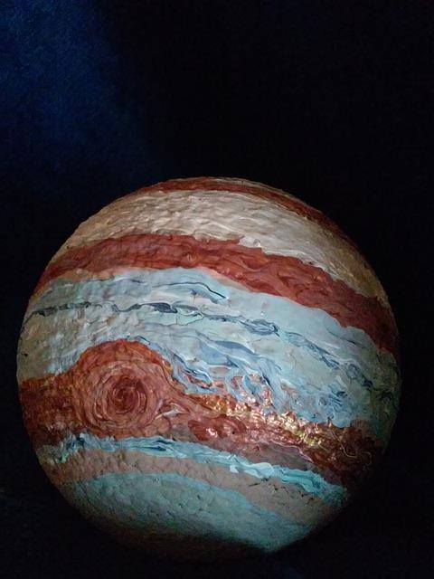 planet jupiter sytrofoam model - photo #13