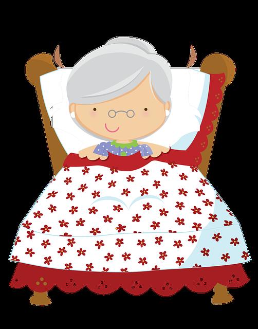 Ilustração gratis: Vovozinha, Chapeuzinho Vermelho - Imagem gratis no Pixabay - 729079