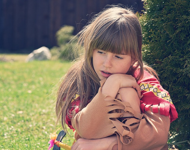 Free Photo Child Girl Blond Long Hair Face Free