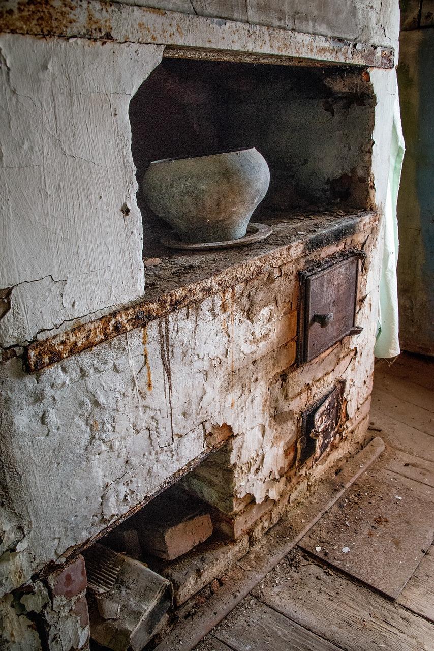 первый год фото старых русских печей в деревне началом архипова