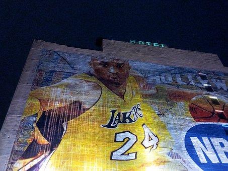 Kobe Bryant, Lakers, Casa, Murale