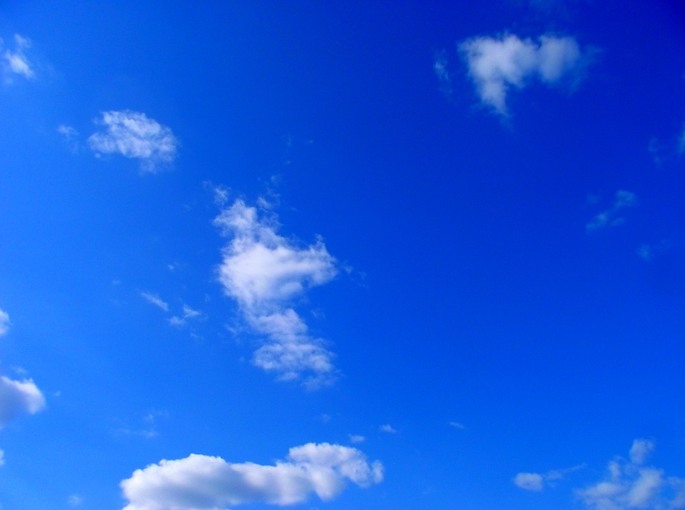 53 Gambar Awan Biru Indah Paling Keren