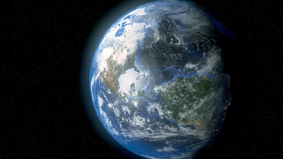 Earth, Space, Planet, Globe, Astronomy, Atmosphere
