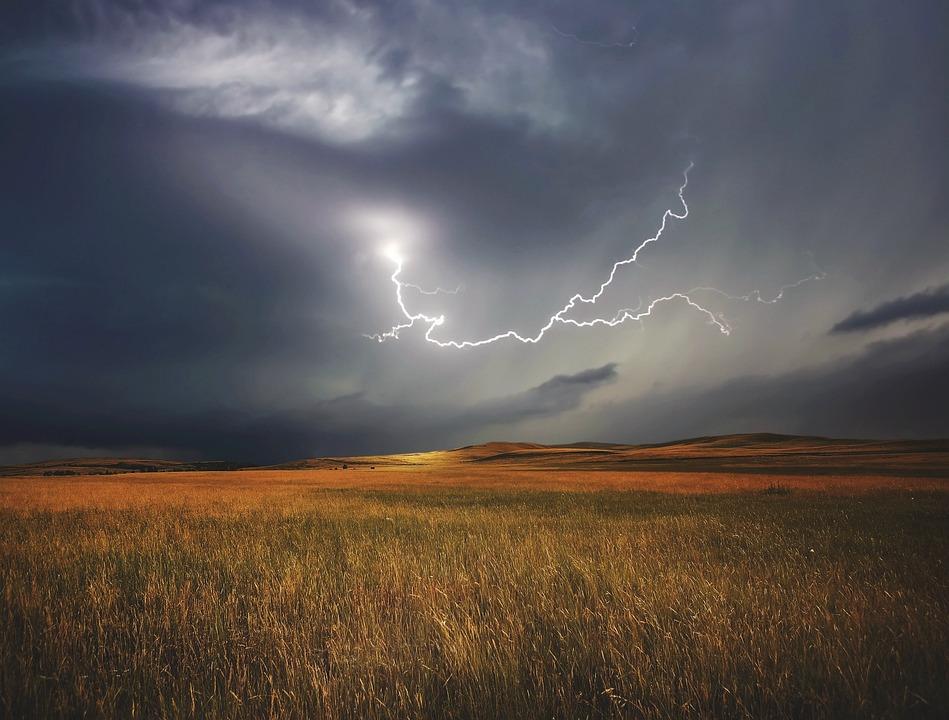 Буря, Молния, Погода, Природа, Небо, Гром