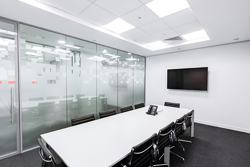 Meeting Room Table Screen Conference Busin