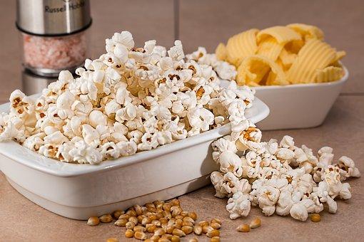 Popcorn, Snack, Salty, Food, Eat, Tasty