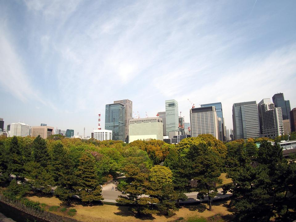 東京, 丸の内, 皇居, ビル