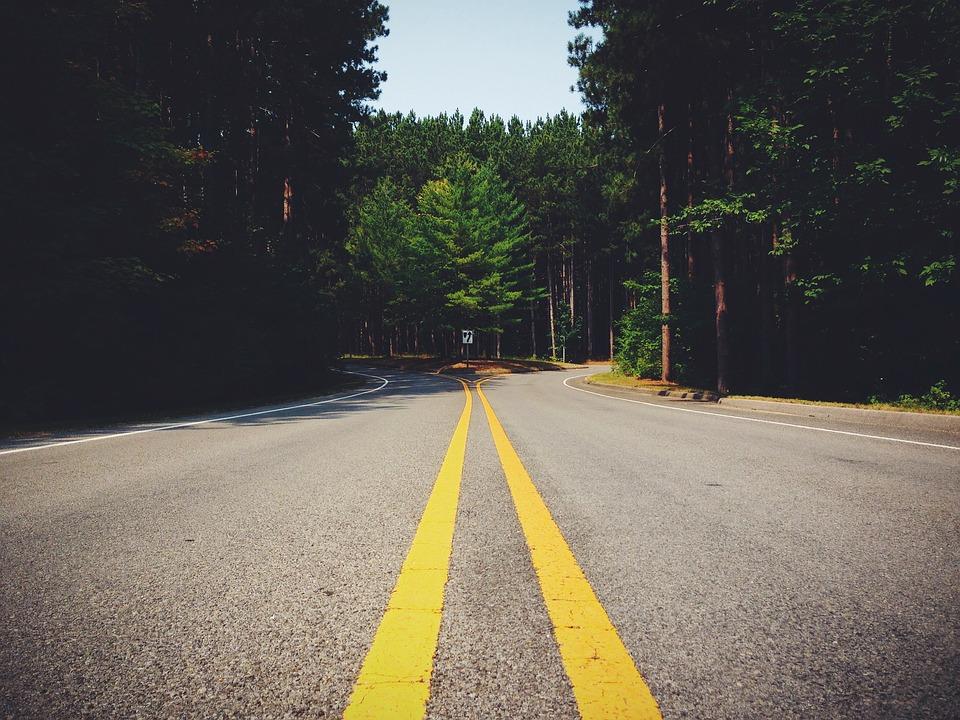 通り, 道路, 高速道路, ジャンクション, トラフィック, 旅行, アスファルト, 交通, アドベンチャー