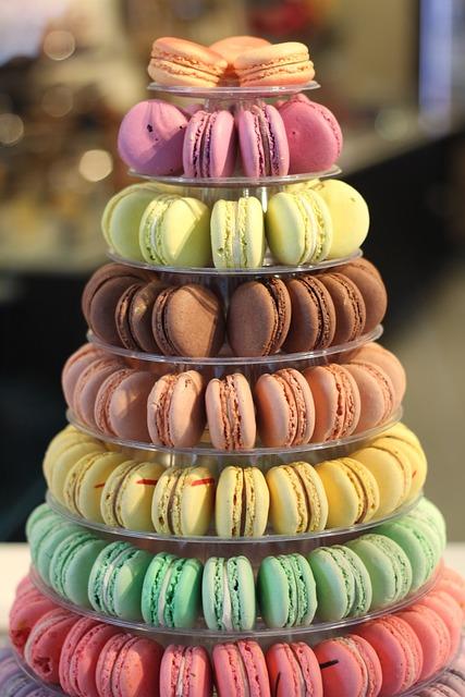 macarons colorful french 183 free photo on pixabay
