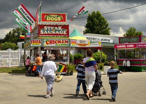 Elkhart, Indiana, In, County, Fair, 4-H