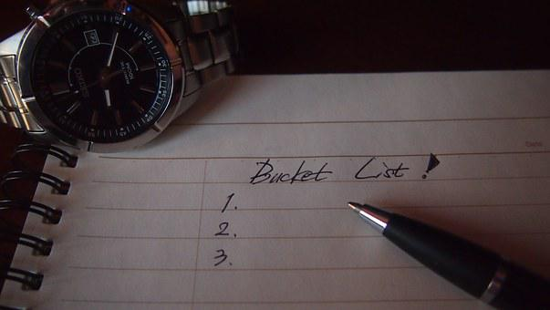 The Bucket List, Anything You Want To Do