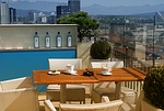 view, terrace