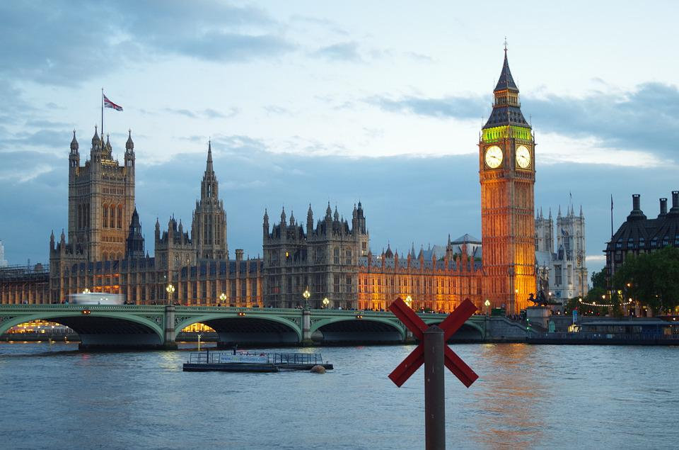 London By Night, South Bank, Big Ben