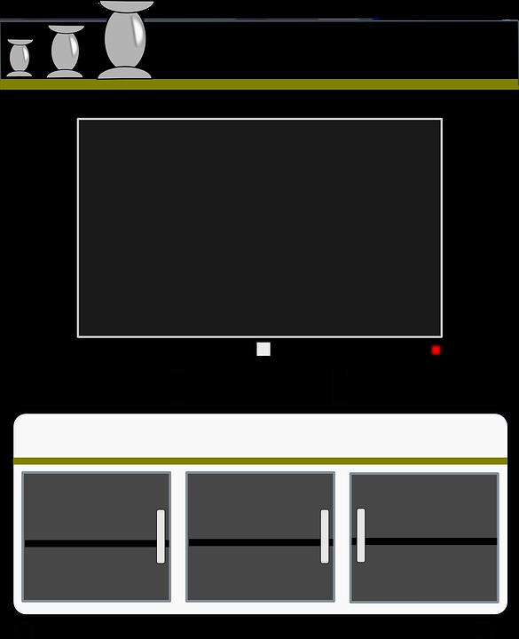 Free Illustration: Cabinet, Cupboard, Cabal, Tv