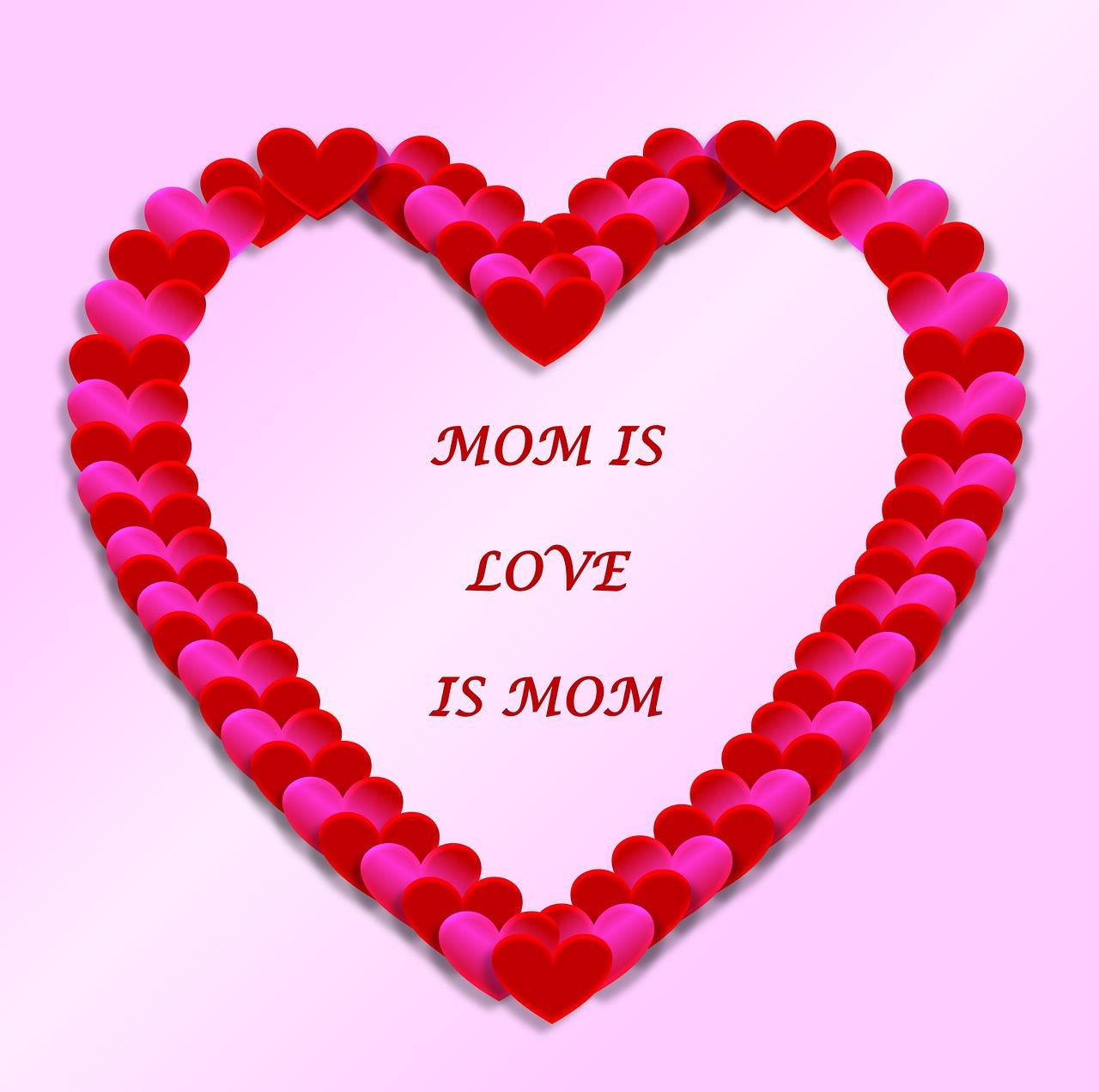 Картинки с сердечками для мамы
