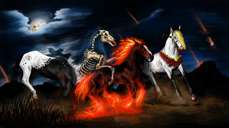 Apocalypse, Chevaux, Riders, Coureurs Nebesští