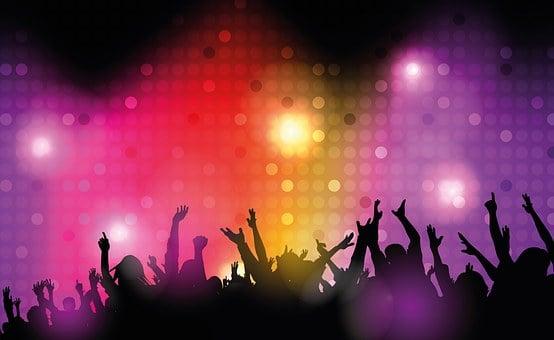 Disney, Dance Club, Disco, Lighting