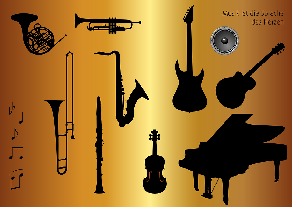 Icon Set Musical Instruments Music 183 Free Vector Graphic